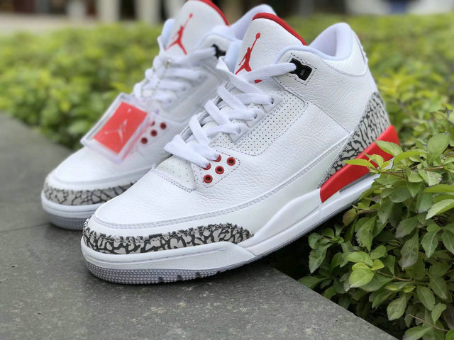 "b657330ee46dc7 Authentic Air Jordan 3 ""Katrina"" - SirSneaker.cn"