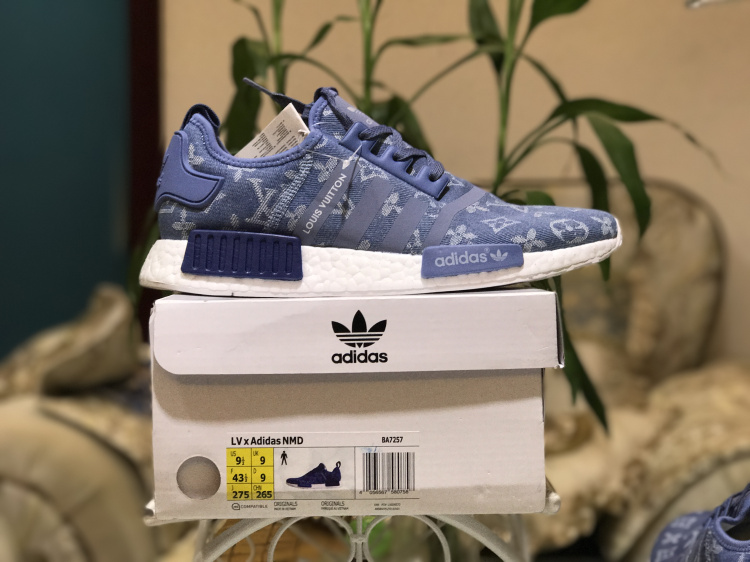on sale 8bf70 23671 Authentic Louis Vuitton x Adidas NMD R1 Boost Denim ...