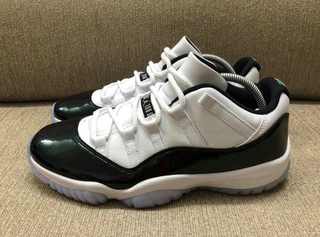 7cf8ffa264b Authentic Air Jordan 11 Low Emerald - SirSneaker.cn
